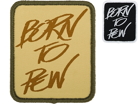 Evike.com Born to Pew Woven Morale Patch