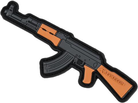 Evike.com Armory Collection PVC Morale Patch (Model: AK47)
