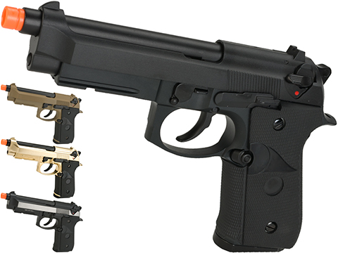 WE-Tech M9A1 Full Metal Gas Blowback Pistol