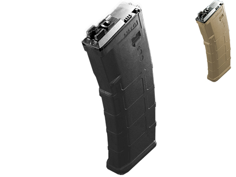 WE-Tech 30 Round Polymer Magazine for WE Open Bolt M4 Airsoft Gas Blowback Series Rifles (Color: Dark Earth)