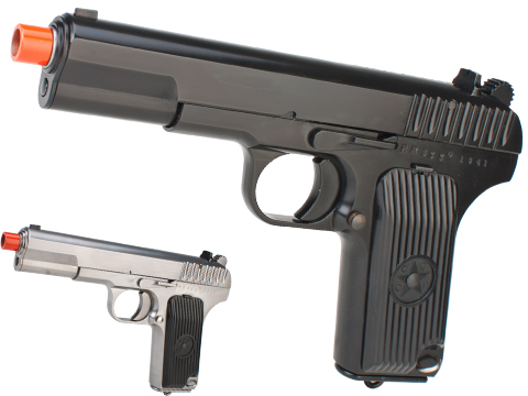 WE-Tech TT33 Full Metal Airsoft GBB Gas Blowback Pistol