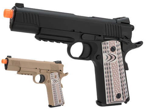 WE-Tech Full Metal 1911 M45A1 Gas Blowback Airsoft GBB Pistol