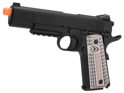 WE-Tech Full Metal 1911 M45A1 Gas Blowback Airsoft GBB Pistol (Color: Black)