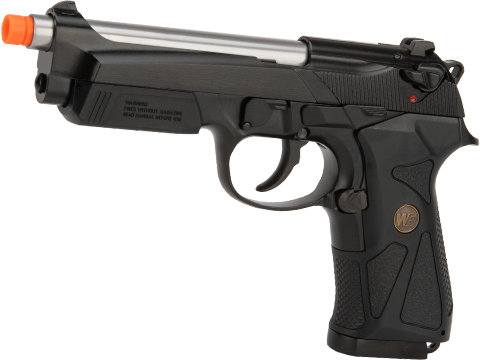 WE-Tech 902 Full Metal Gas Blowback Airsoft Pistol (Color: Black)