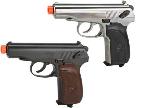 Gun Heaven CO2 Powered Makarov Blowback Airsoft Pistol