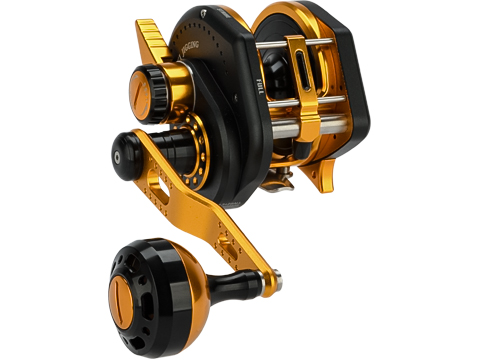 Jigging Master Wiki Violent Slow Lever Wind Fishing Reel w/ Automatic Line Guide (Model: 3000H Right Black)