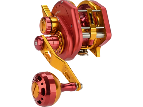 Jigging Master Wiki Violent Slow Lever Wind Fishing Reel w/ Automatic Line Guide (Model: 3000H Right Red)