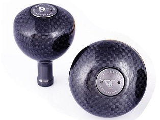 Wiki Carbon Power Knob (Type: 46mm/ 16.88g #L)