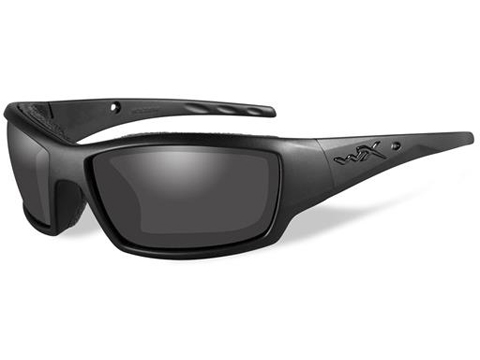 Wiley X Black Ops Sunglasses (Color: Matte Black Frame w/ Smoke Grey Lens)