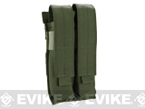 Matrix Airsoft SMG Double Magazine MOLLE Pouch - Foliage Green
