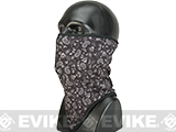 Bobster / Zan Headgear Cozy Fleece Combat Lower Face / Neck Gaiter - Dark Paisley