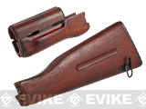 Matrix Airsoft AK74 Real Wood Furniture Handguard + Stock Kit