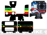 WRYD Wrap Protective Cover for GoPro HERO3 - Rasta