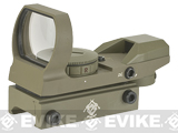 (AIRSOFTCON EPIC DEAL) Evike Panorama Red/Green Dot with Spec. Ops Reticles - Tan