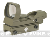 Evike Panorama Red / Green Dot (Type: Warfare Reticle / Tan)