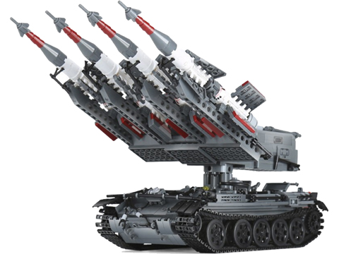XingBao Collectible Building Block Set (Style: SA-3 Goa Mobile SAM System)