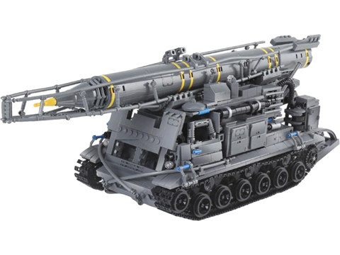 XingBao Collectible Building Block Set (Style: 8U218 TEL 8K11 Mobile SCUD Launcher)