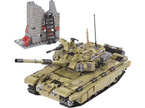 XingBao Collectible Building Block Set (Style: Scorpio Tiger Tank)