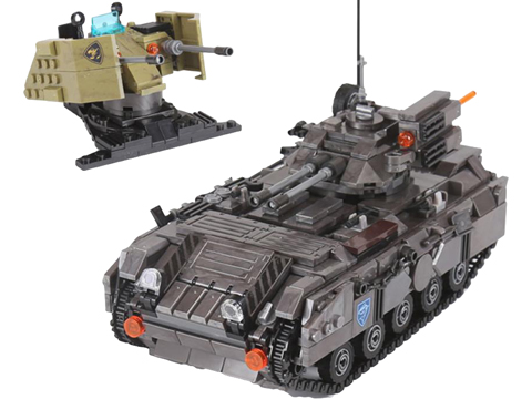 XingBao Collectible Building Block Set (Style: Armoured Vehicle)