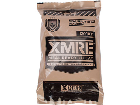 XMRE 1300XT Military Grade Meal Ready to Eat Ration (Meal: Shredded Beef)