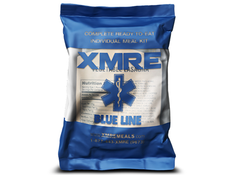 XMRE Blue Line Meal Ready to Eat Single Meal (Menu: Chili and Macaroni)