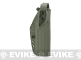 G-Code XST-RTI Kydex Holster (Pistol: 1911 5 Railed / OD Green / Right)