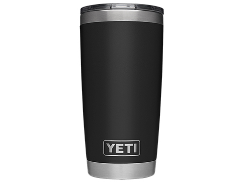 YETI Rambler 20oz Tumbler with MagSlider Lid (Color: Black)