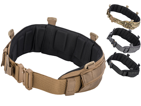 Emersongear Blue Label Padded Battle Belt w/ AustriAlpin COBRA Buckle (Color: Coyote Brown / Medium)