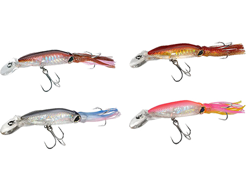 Yo-Zuri 3D Squirt Hardbait Floating Squid