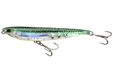 Yo-Zuri 3D Inshore Pencil Fishing Lure (Size: 4 / Green Mackerel)
