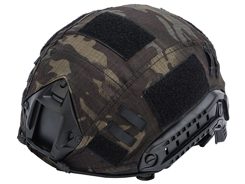 Emerson Tactical Helmet Cover for Bump Type Airsoft Helmets (Color: Multicam Black)