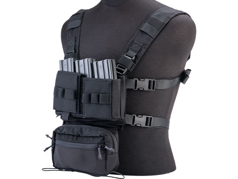 EmersonGear Mini Voyage Modular Chest Rig and Placard