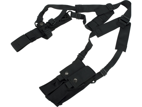 Matrix SMG Machine Pistol Shoulder Holster Rig with Magazine Pouches