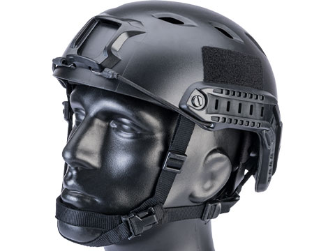 6mmProShop Advanced Base Jump Type Tactical Airsoft Bump Helmet (Color: Black / Medium - Large)