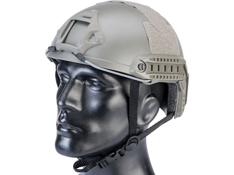 Matrix Basic High Cut Ballistic Type Tactical Airsoft Bump Helmet (Color: Foliage Green)