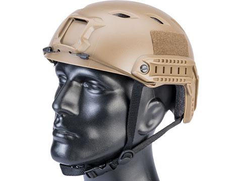 Matrix Basic Base Jump Type Tactical Airsoft Bump Helmet (Color: Dark Earth)