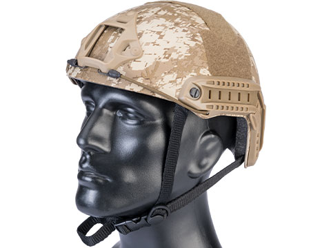 Matrix Basic High Cut Ballistic Type Tactical Airsoft Bump Helmet (Color: Digital Desert)