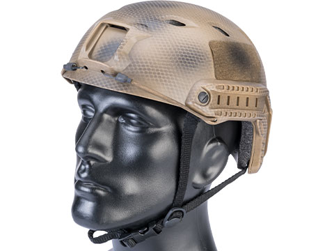 Matrix Basic Base Jump Type Tactical Airsoft Bump Helmet (Color: Tan Navy Seal)