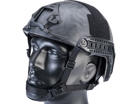 6mmProShop Advanced High Cut Ballistic Type Tactical Airsoft Bump Helmet (Color: Kryptek Typhon / Medium - Large)