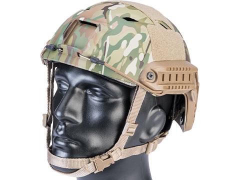 6mmProShop Advanced Base Jump Type Tactical Airsoft Bump Helmet (Color: Partial Multicam / Medium - Large)