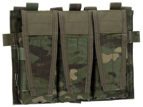 Emerson Adaptive Style Hook and Loop Triple Magazine Pouch (Color: Multicam Tropic)