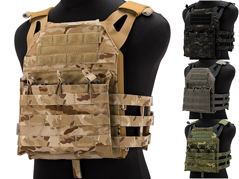 Emerson 7344 Compact Plate Carrier (Color: Multicam Tropic)