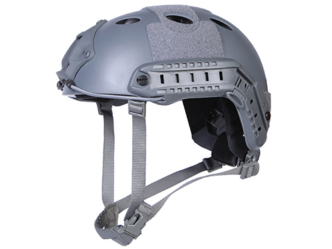 Emerson Bump Type Tactical Airsoft Helmet (Type: PJ / Advanced / Wolf Grey / Medium - Large)