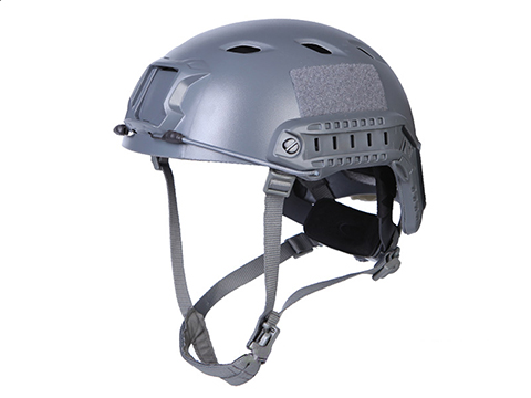Emerson Bump Type Tactical Airsoft Helmet (Type: BJ / Advanced / Wolf Grey / Medium - Large)