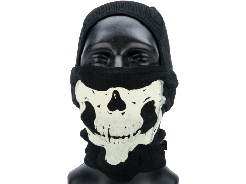 EmersonGear Tactical Ghost Cold Weather Balaclava for small face / children (Color: Black)