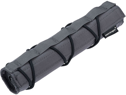 EmersonGear Cordura 22cm Airsoft Suppressor Cover (Color: Wolf Grey)