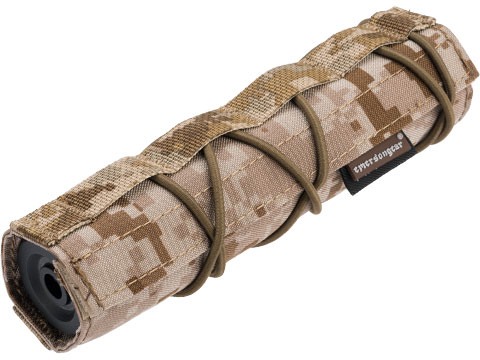 EmersonGear Cordura 18cm / 7 Airsoft Suppressor Cover (Color: AOR1)