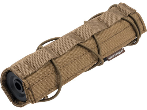 EmersonGear Cordura 18cm / 7 Airsoft Suppressor Cover (Color: Coyote Brown)