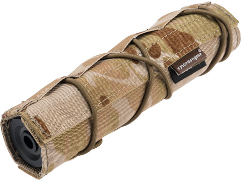 EmersonGear Cordura 18cm / 7 Airsoft Suppressor Cover (Color: Multicam Arid)