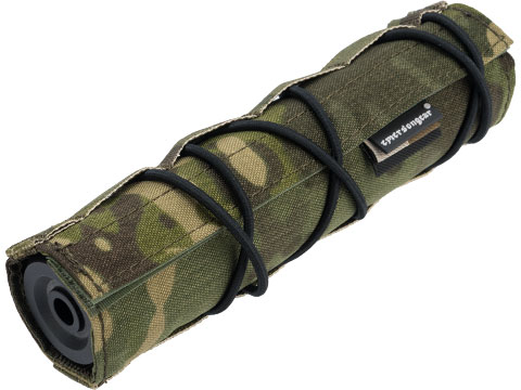 EmersonGear Cordura 18cm / 7 Airsoft Suppressor Cover (Color: Multicam Tropic)